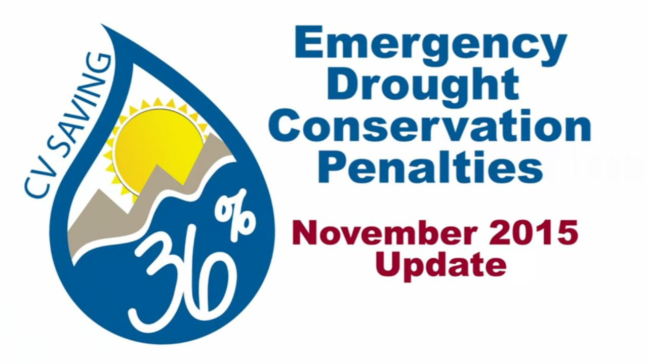 Emergency Drought Conservation Penalties