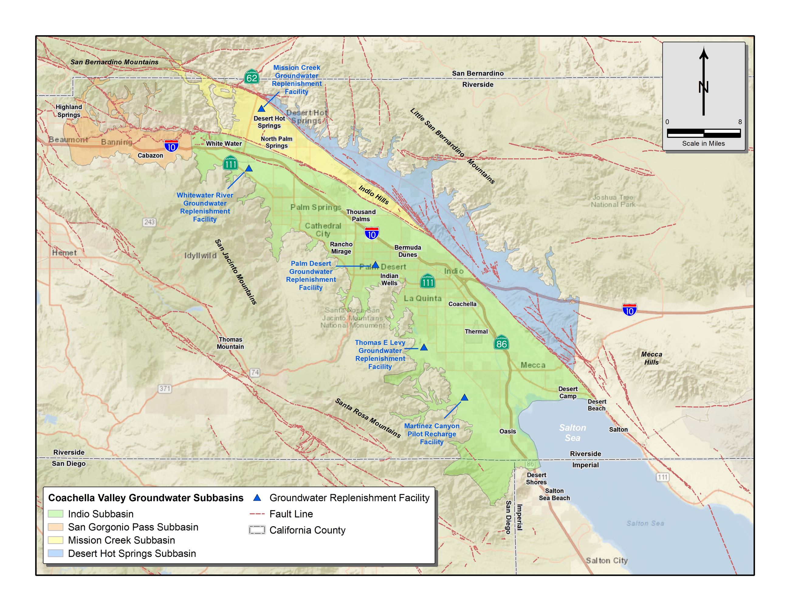 Coachella Valley Groundwater Basin and Subbasins