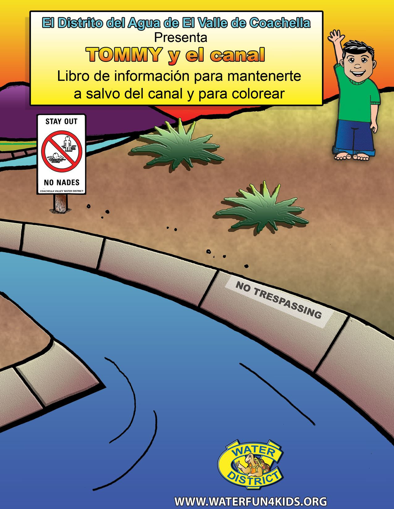Tommy and the Canal Book Spanish