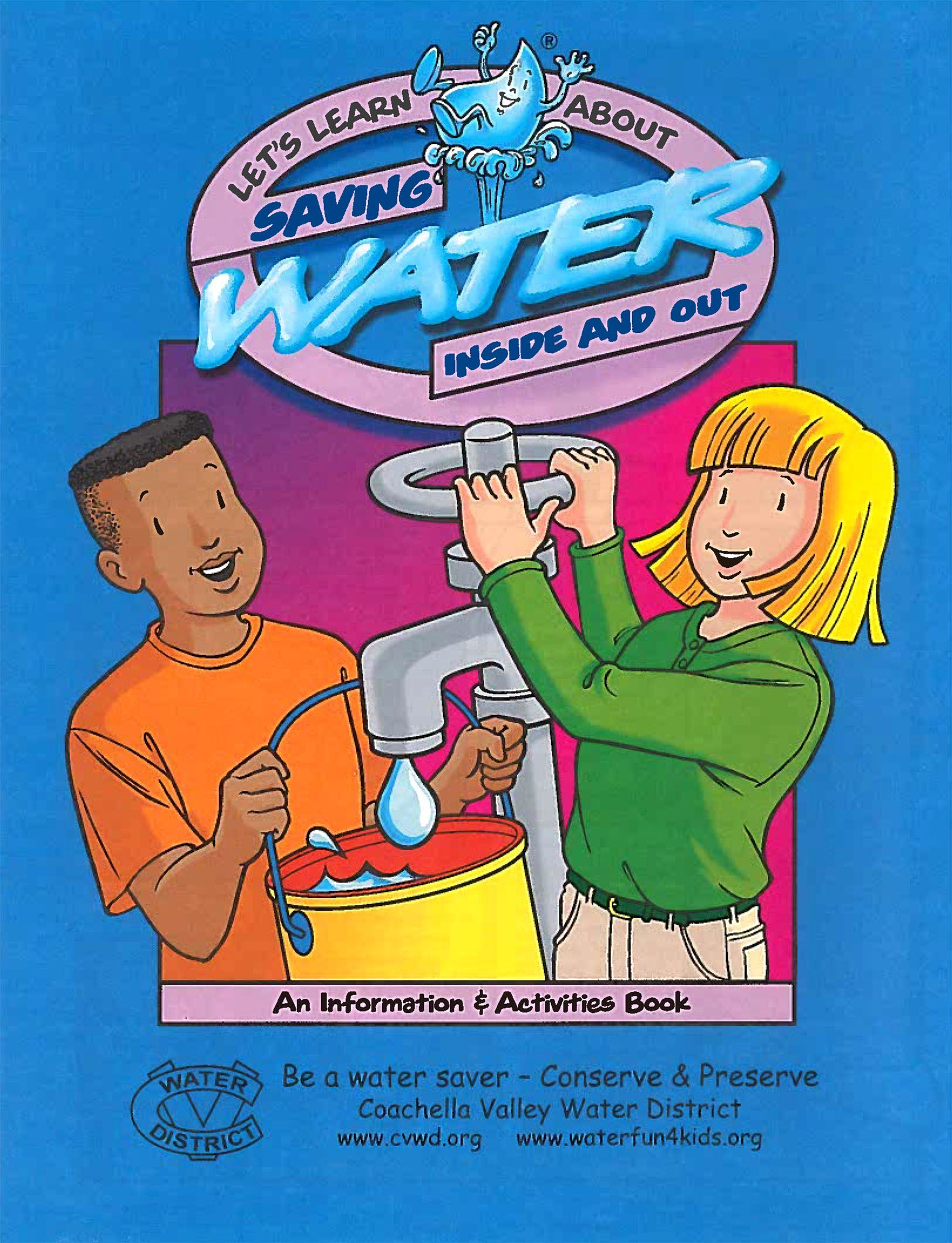 5th Grade Water Activity Book Cover