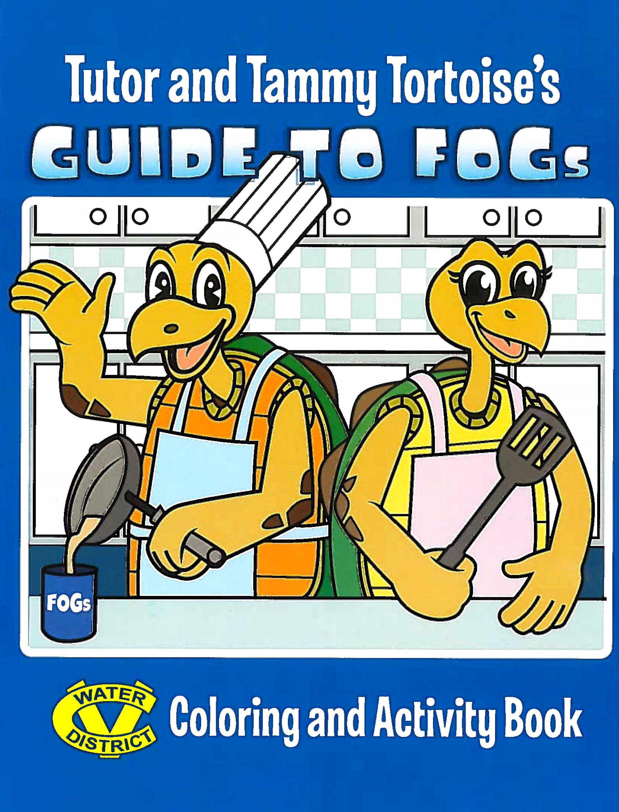 FOG Activity Book Cover
