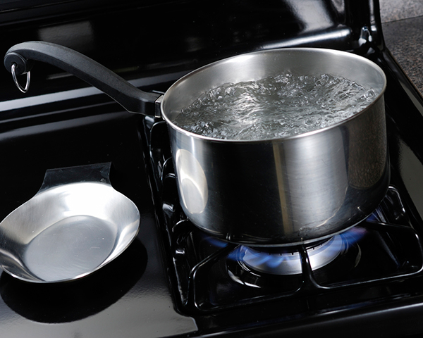 Boil water in emergency