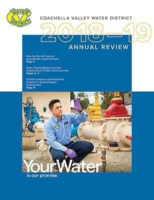CVWD Annual Review 2018-2019 Opens in new window