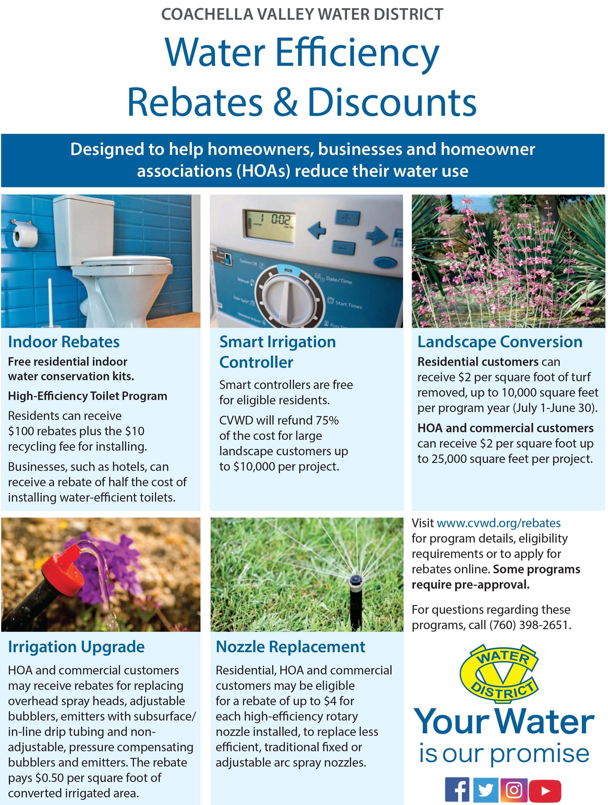 Landscape Rebates and Discounts flyer Opens in new window