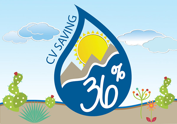 CV Saving 36 percent logo